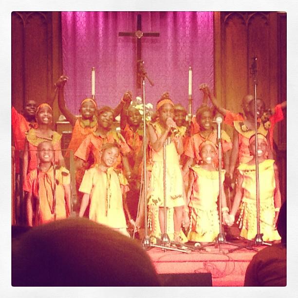 African Children's Choir at Kenmore United Methodist Church
