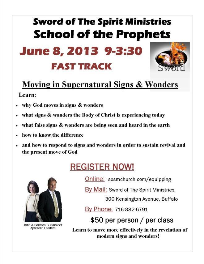 School of the Prophets Buffalo, NY