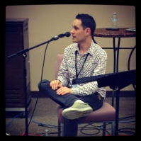 Joel Parisien from Newworldson gave a vocal workshop at CMS Buffalo