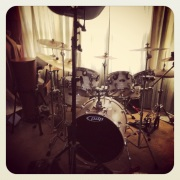 Phil's drum set