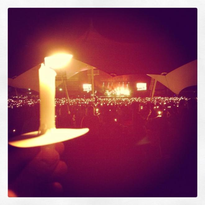 Hillsong concert at KB
