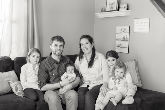 Pastor Milo Wilson and his family