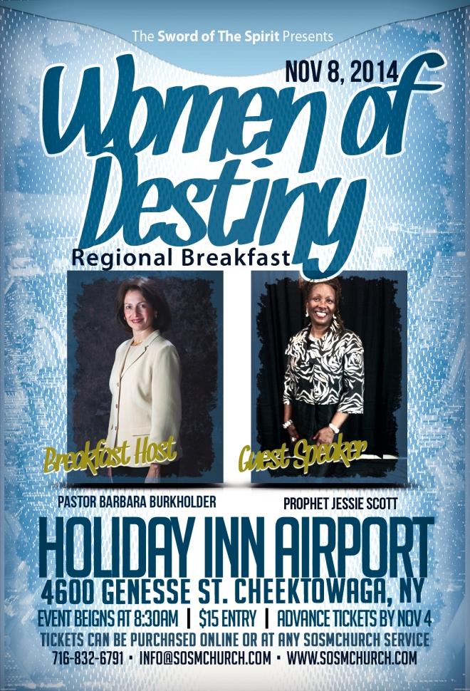 Women of Destiny Regional Breakfast