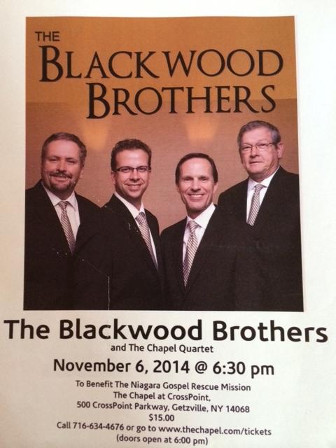 Blackwood Brothers Buffalo concert