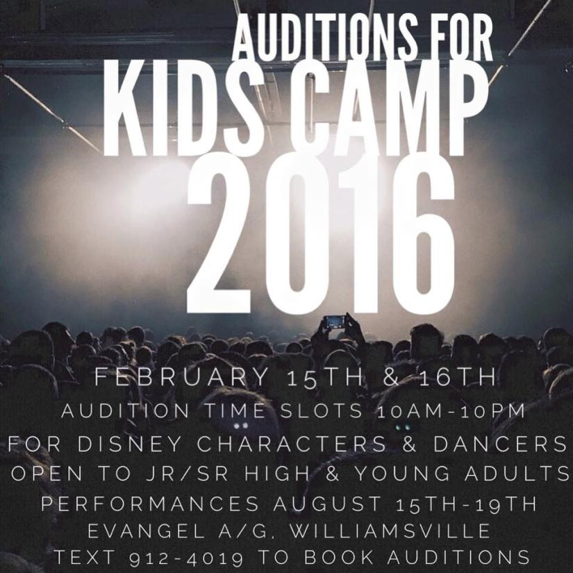 Disney character and dancer auditions